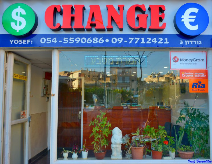 exchange money netanya
